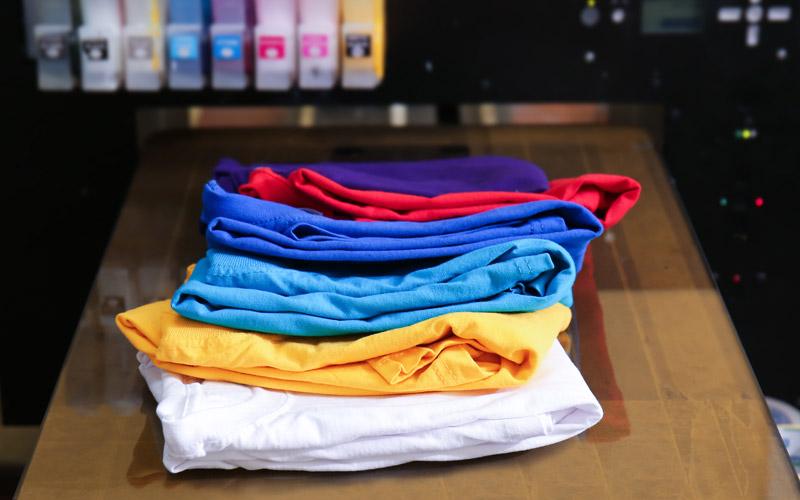 Impression quadri sur tshirt et textile