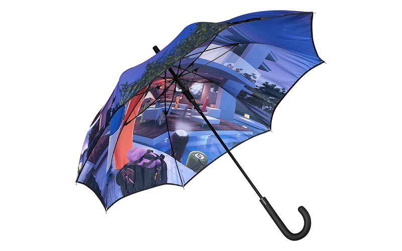 parapluie sublimation quadrichromie
